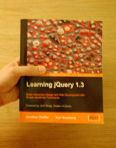 Book Review : Learning jQuery 1.3