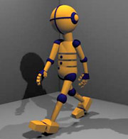 Flash animation along with 3D design and animation made in Maya and Poser3D