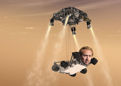 Nic Cage Rover
