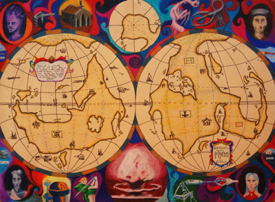 'World Map' 2000