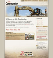 Full site development and design for a heavy highway contractor